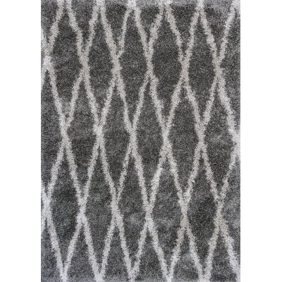 Electra Gray Area Rug Rug Size: 710 x 106