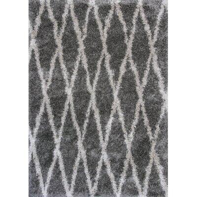 Electra Gray Area Rug Rug Size: 710 x 106