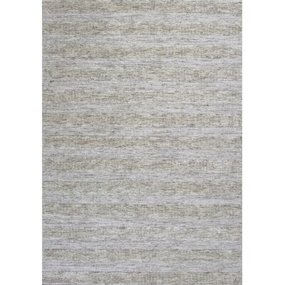 Arroyo Hand-Tufted Ivory Area Rug Rug Size: 5 x 7