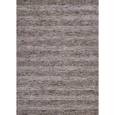 Calanthe Hand-Tufted Taupe Area Rug Rug Size: 33 x 53