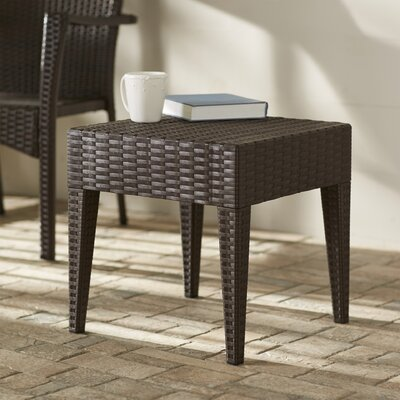 Kesler Resin Side Table Finish: Brown