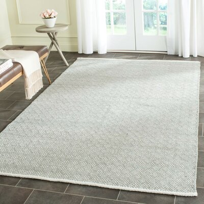 Arbuckle Gray Area Rug Rug Size: Rectangle 4 x 6