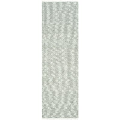 Arbuckle Gray Area Rug Rug Size: Runner 23 x 7