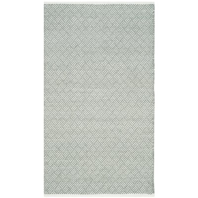 Arbuckle Gray Area Rug Rug Size: 3 x 5