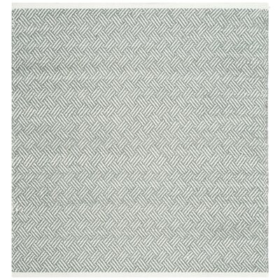 Arbuckle Gray Area Rug Rug Size: Square 6