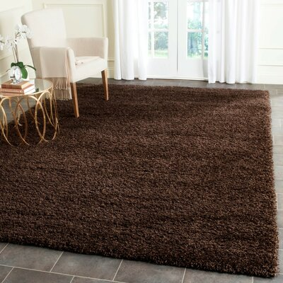 Arce Brown Area Rug Rug Size: Rectangle 4 x 6