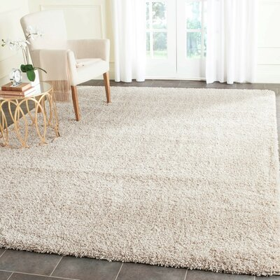 Arce Beige Area Rug Rug Size: Rectangle 53 x 76