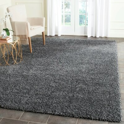 Arce Dark Gray Area Rug Rug Size: Rectangle 9 x 12