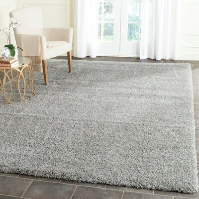 Arce Silver Area Rug Rug Size: Rectangle 9 x 12
