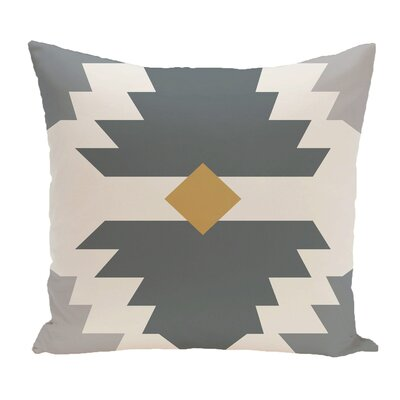 Cleon Outdoor Throw Pillow Color: Gray