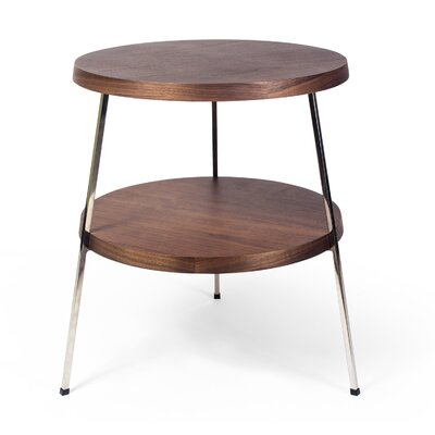 Plotinus End Table Finish: Walnut