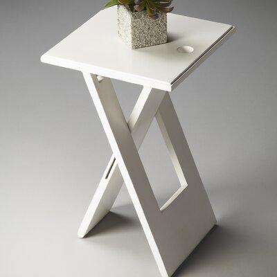 Artrip 19.25 Square Folding Table Finish: White