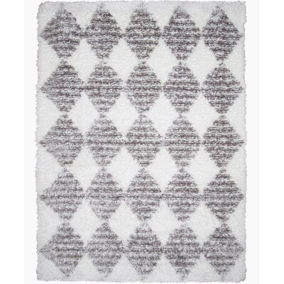 Abarca Gray Area Rug Rug Size: Rectangle 53 x 72