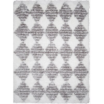 Abarca Gray Area Rug Rug Size: Rectangle 28 x 311