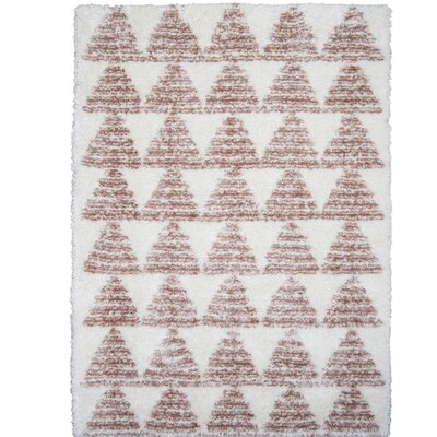 Abarca Brown Area Rug Rug Size: 53 x 72