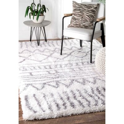 Norby Gray Area Rug Rug Size: Rectangle 9' 2