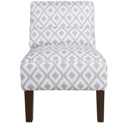 Thurston Slipper Chair Upholstery: Ikat Fret Pewter