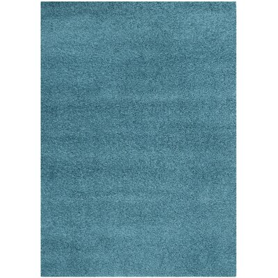 Acheson Turquoise Area Rug Rug Size: 53 x 76