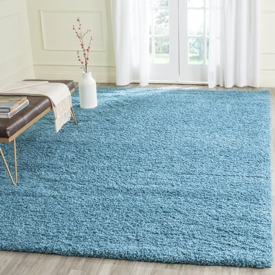 Acheson Turquoise Area Rug Rug Size: 8 x 10