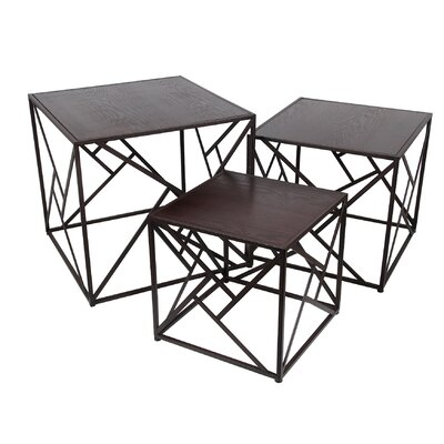 Abdallah 3 Piece Nesting Tables
