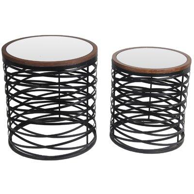 Kunze 2 Piece Nesting Tables