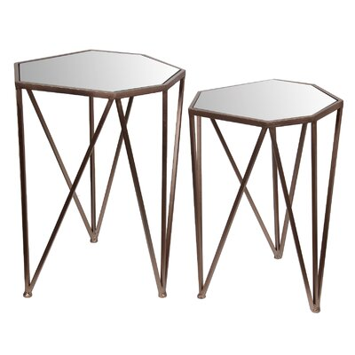 Antonina 2 Piece Nesting Tables