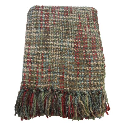 Barthel Woven Throw Blanket Color: Multi