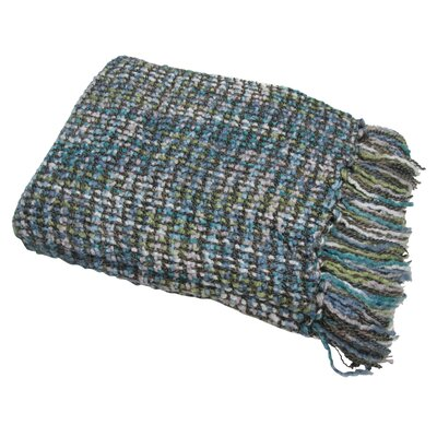 Judith Woven Throw Blanket Color: Waterlily