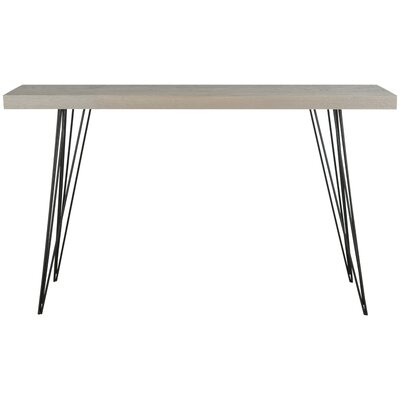 Arcuri Console Table Finish: Gray