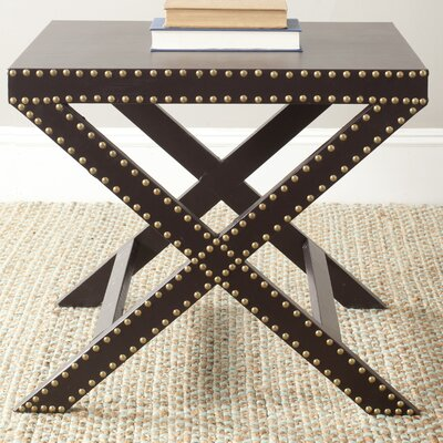 Ardis End Table Color: Charcoal