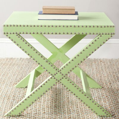 Ardis End Table Color: Light Green