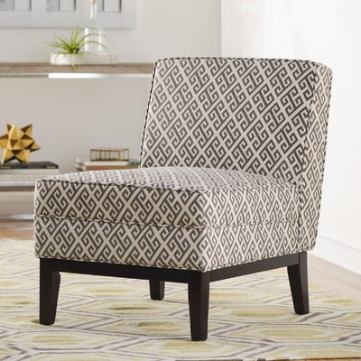Dareios Gray Slipper Chair