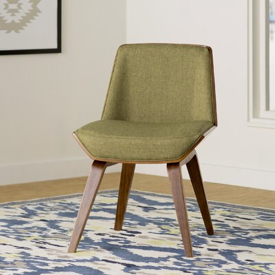 Atlantic Avenue Side Chair Upholstery: Green