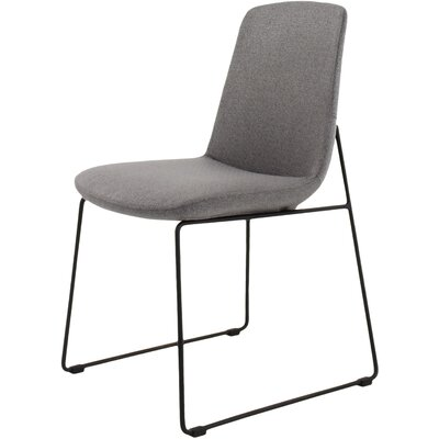 Atwell Side Chair Upholstery: Grey