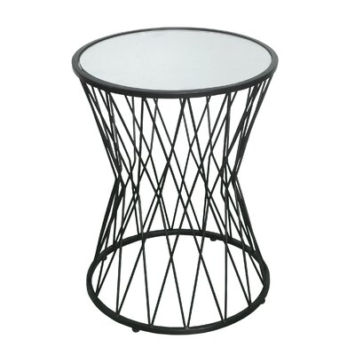 Colyn Hourglass End Table