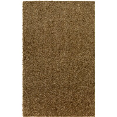 Dulcia Brown Indoor/Outdoor Area Rug Rug Size: Round 4