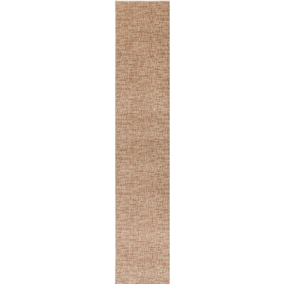 Beige Woven Indoor/Outdoor Area Rug Rug Size: Runner 2 x 10
