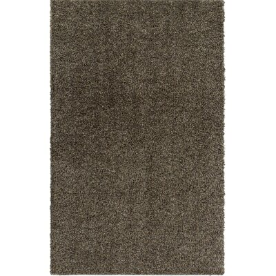 Dulcia Gray Indoor/Outdoor Area Rug Rug Size: Round 4