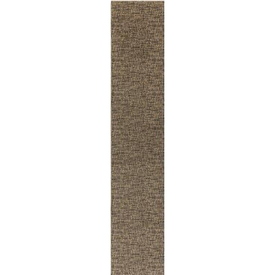 Attalus Brown Indoor/Outdoor Area Rug Rug Size: Runner 2 x 10