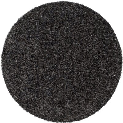 Gaius Gray Indoor/Outdoor Area Rug Rug Size: Round 6
