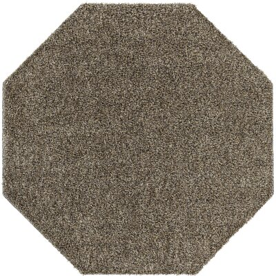 Dulcia Gray Indoor/Outdoor Area Rug Rug Size: Octagon 6