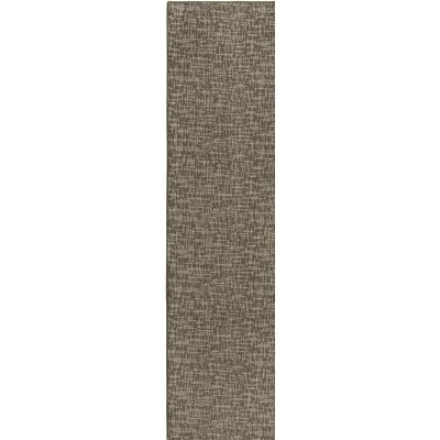 Cecilia� Brown Indoor/Outdoor Area Rug Rug Size: Runner 2 x 10