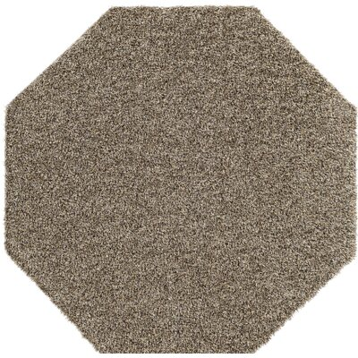 Dulcia Solid Gray Indoor/Outdoor Area Rug Rug Size: Octagon 6