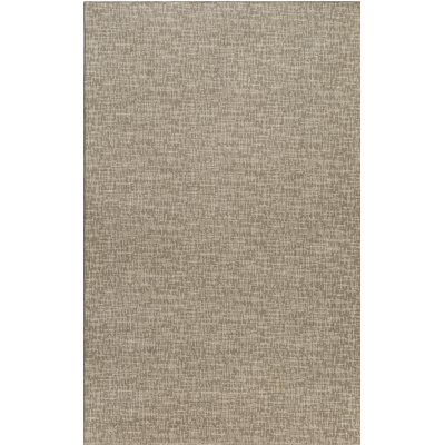 Cecilia�Gray Indoor/Outdoor Area Rug Rug Size: Round 4