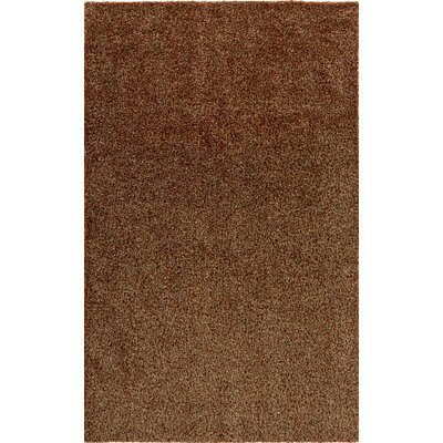 Megara Brown Indoor/Outdoor Area Rug Rug Size: Round 4