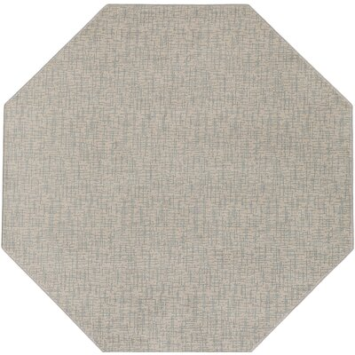 Hierius Blue/Gray Indoor/Outdoor Area Rug Rug Size: Octagon 6