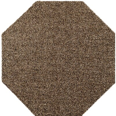 Brown Indoor/Outdoor Area Rug Rug Size: Octagon 6