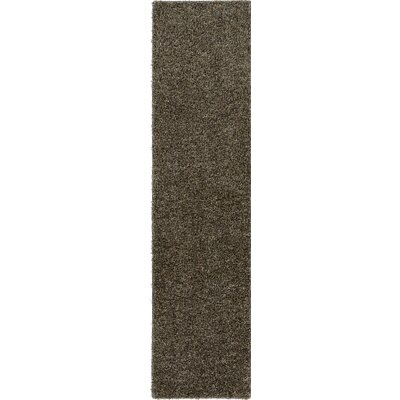 Dulcia Gray Indoor/Outdoor Area Rug Rug Size: Runner 2 x 10