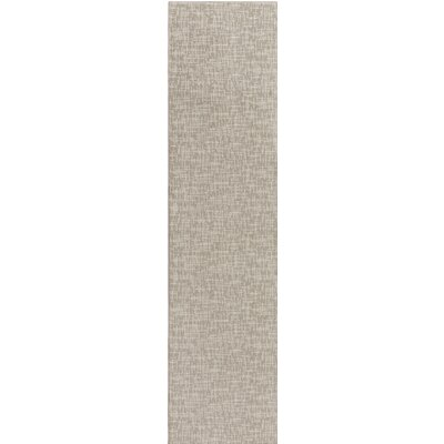 Braelyn Gray Indoor/Outdoor Area Rug Rug Size: Runner 2 x 10
