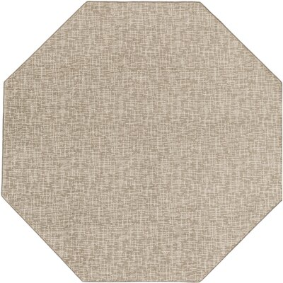 Cecilia�Gray Indoor/Outdoor Area Rug Rug Size: Octagon 6